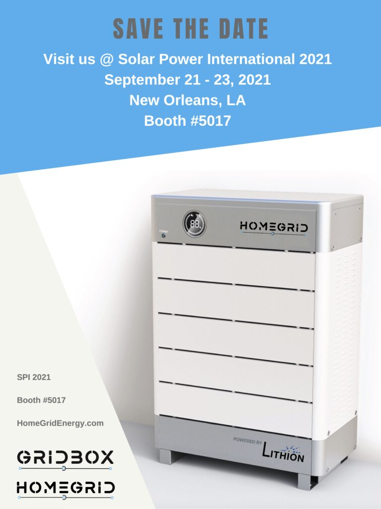 Visit HomeGrid and GridBox at SPI 2021