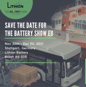 Visit us @ The Battery Show Europe LBI web